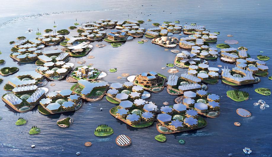 Oceanix City, BIG, Bjarke Ingels Group