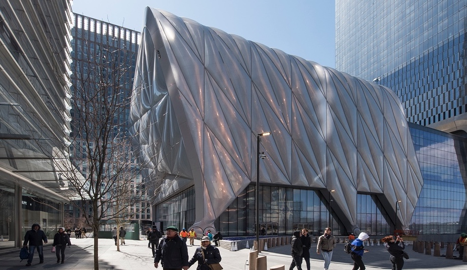 The Shed, Hudson Yards, New York, Diller Scofidio + Renfro, New York City