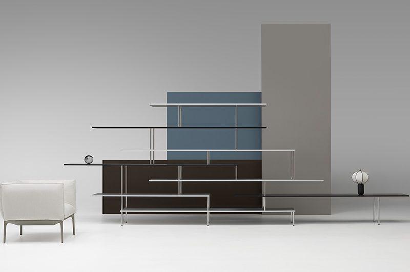 Super_Position shelving, Jean Nouvel, MDF Italia